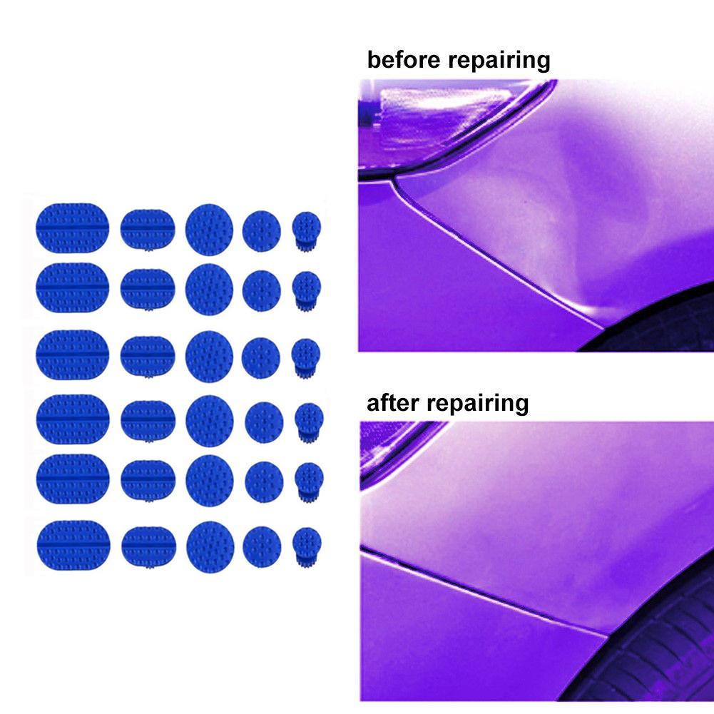 [해외]30pcs Car Body Dent Removal Pulling Tabs Paintless Repair Tools Glue Puller Tabs car dent remover fix auto repair tool  dropship/30pcs Car Body De