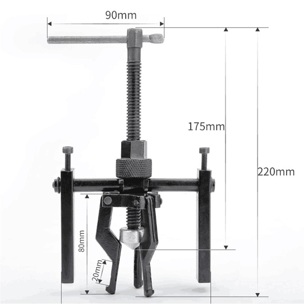 [해외]Fine-quality Carbon Steel 3-jaw Inner Bearing Puller Gear Extractor Heavy Duty Automotive Machine Tool Kit/Fine-quality Carbon Steel 3-jaw Inner B