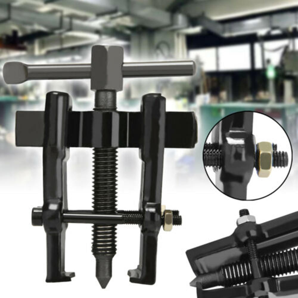 [해외]Adjustable Two Jaw Pilot Bearing Puller Tool Carbon Steel Pump Pulley Remover Bearing Multifunctional Puller 50/75/100mm/Adjustable Two Jaw Pilot