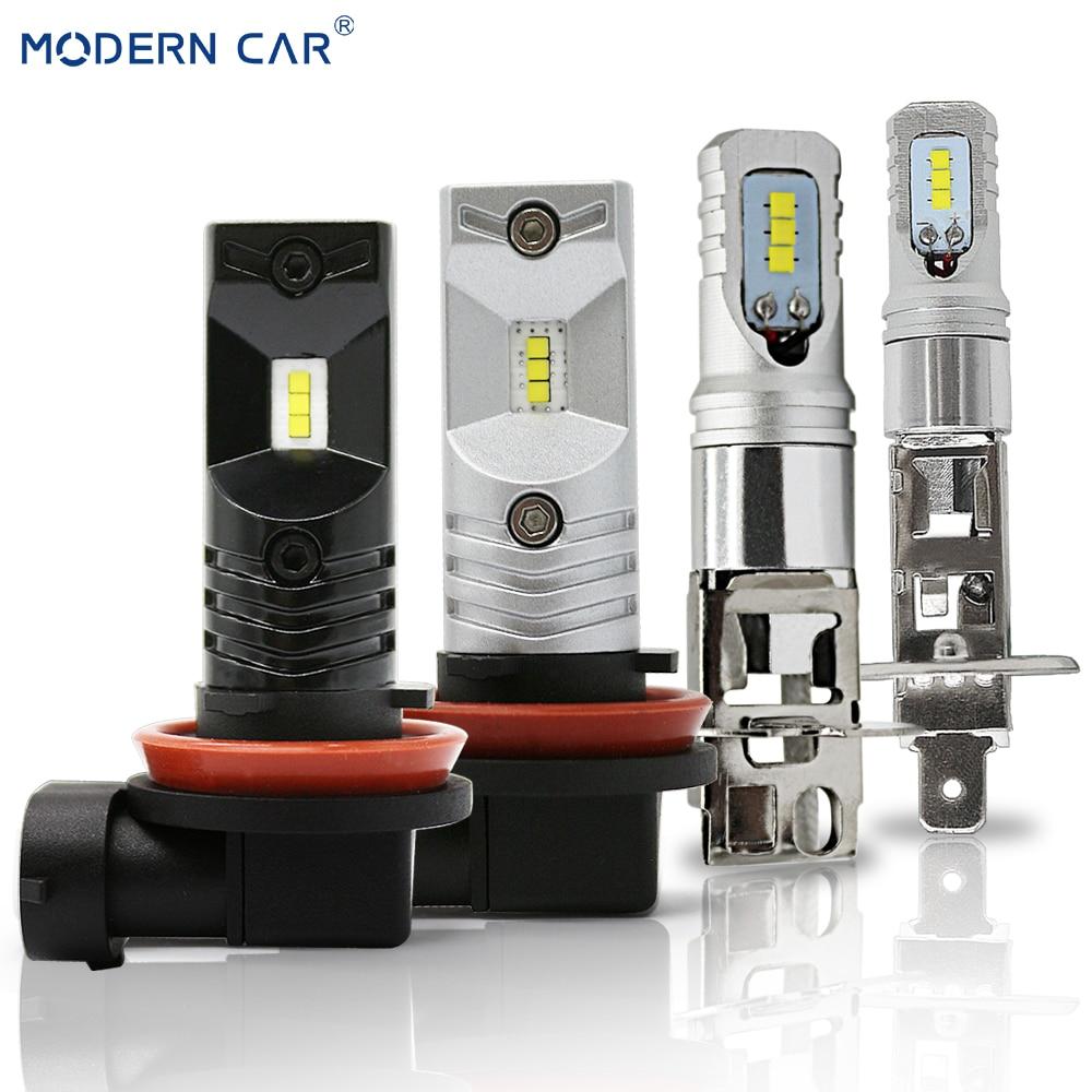 [해외]현대 자동차 60 w h1 h3 h11 h8 9005 9006 h7 led 안개 전구 csp 운전 실행 조명 drl 안개 램프 전구 3000lm 자동차 스타일링 12 v/현대 자동차 60 w h1 h3 h11 h8 9005 9006 h7 led