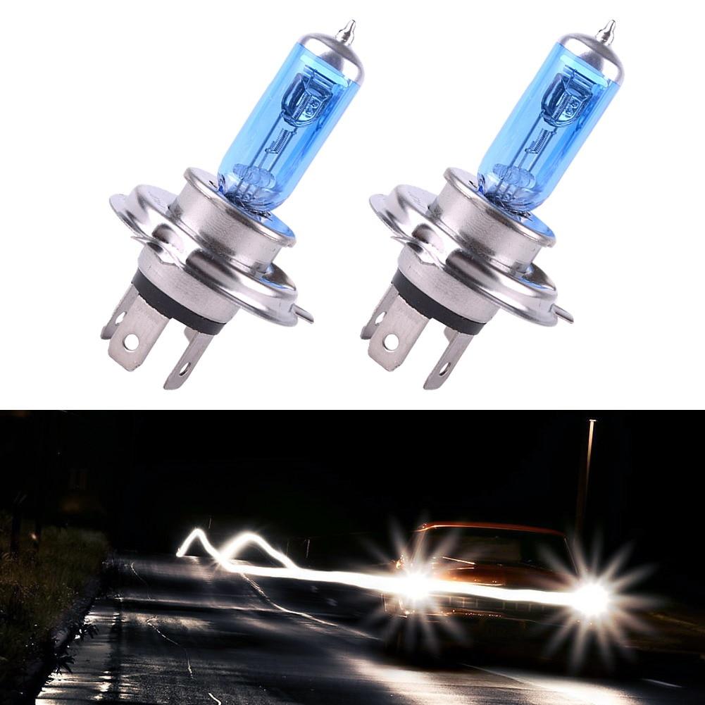 [해외]2 pcs 12 v 100 w h4 6000 k 크 세 논 가스 슈퍼 밝은 흰색 자동 헤드 라이트 램프 전구 자동차 안개 램프 automovil 전조 등 액세서리/2 pcs 12 v 100 w h4 6000 k 크 세 논 가스 슈퍼 밝은 흰색