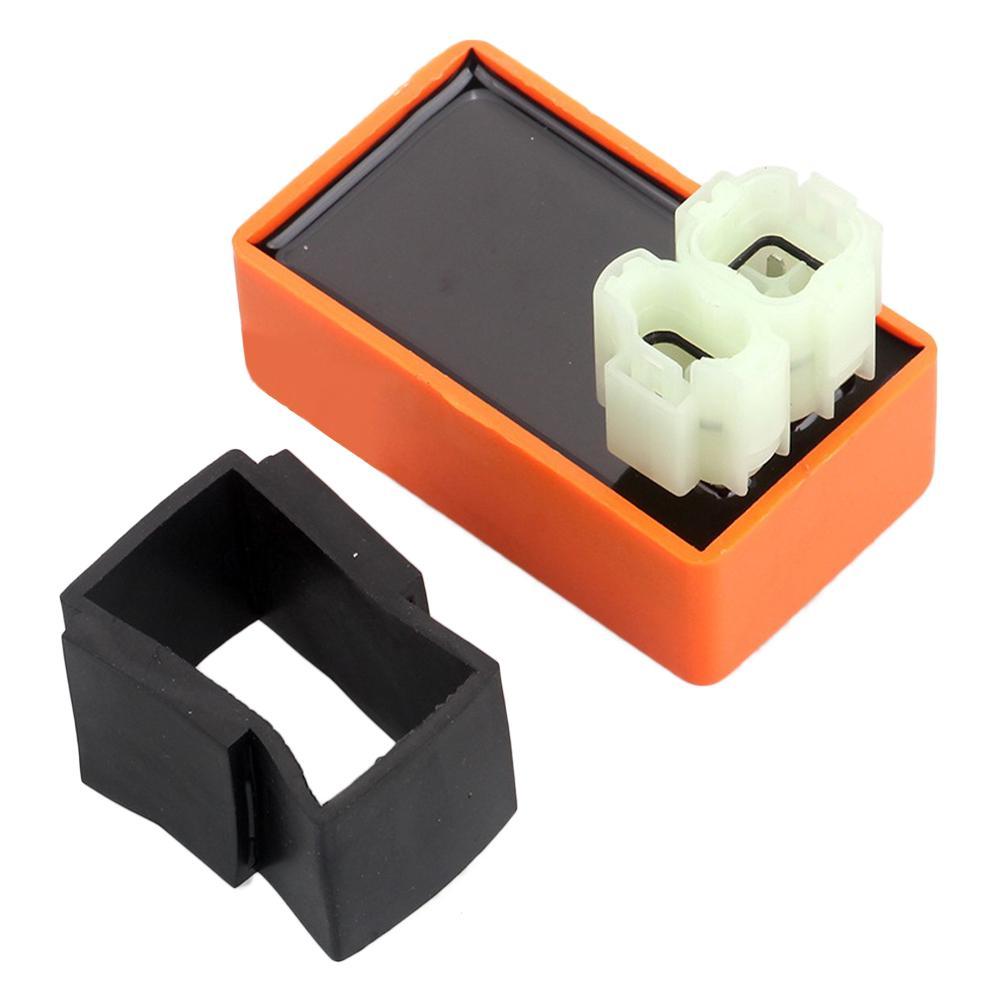 [해외]Modified Orange AC Without Speed Limit 6-pin CDI Igniter For Scooter GY6 50CC-125CC/Modified Orange AC Without Speed Limit 6-pin CDI Igniter For S