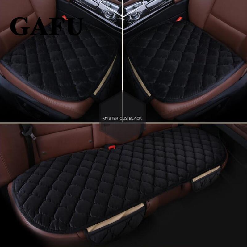 [해외]폭스 바겐 Tiguan mk2 2017 2018 자동차 시트 커버 겨울 용품 액세서리 자동차 시트 쿠션 커버 패드 매트 미끄럼 방지 자동 보호 장치/For VW Tiguan mk2 2017 2018 Car Seat Cover Winter Goods Accesso