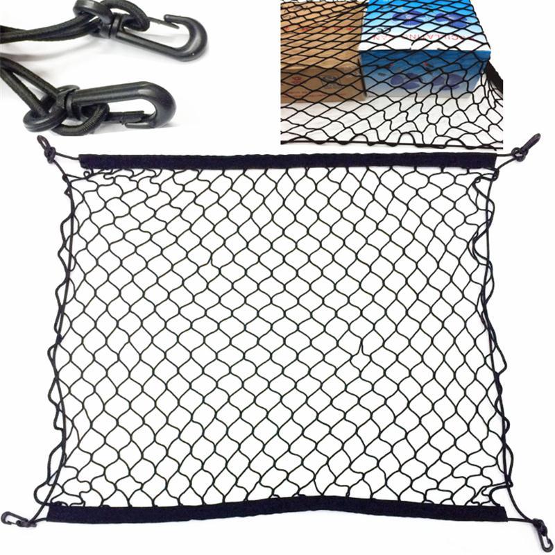 [해외]4 HooK Car Trunk Cargo Mesh Net Luggage For Mitsubishi ASX Pajero Pajero Sport Lancer Outlander/4 HooK Car Trunk Cargo Mesh Net Luggage For Mitsub