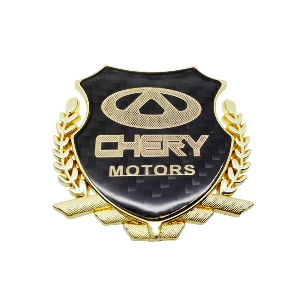 [해외]3D Metal Car Stickers Emblem Badge Decals Car Styling For Chery E3 eQ X1 QQ3EV 3X E5 A1 V5 ARRIZO 3 5 7 A3 Tiggo 3 5 7 E3 A5  QQ/3D Metal Car Stic