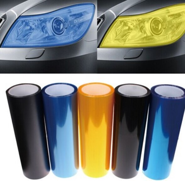[해외]Car Headlight Lamp Vinyl Film Sticker for Mercedes W203 W204 W205 W211 Benz Cadillac ATS SRX CTSfor Lexus RX RX300 Porsch/Car Headlight Lamp Vinyl