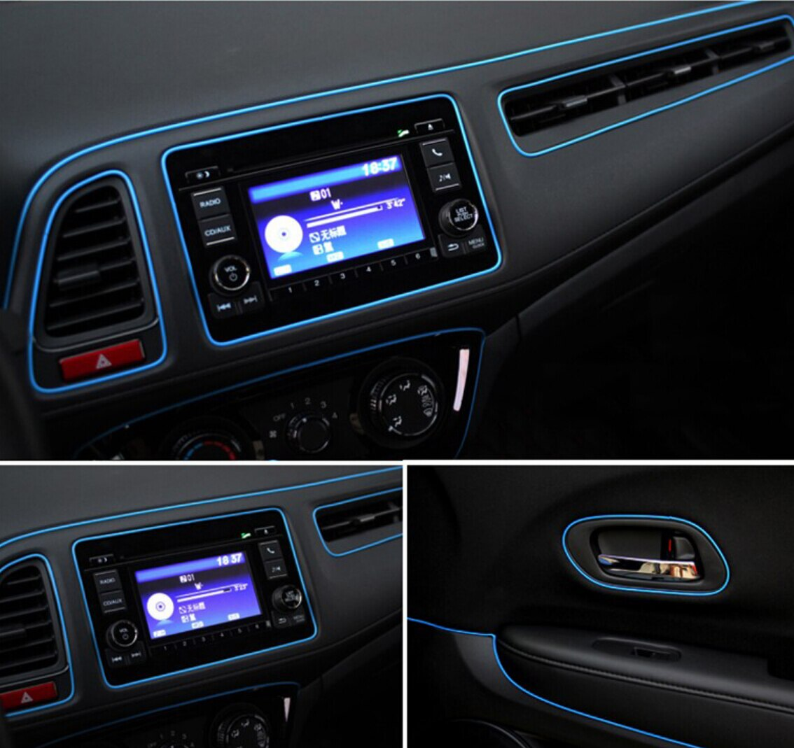 [해외]Car-styling Dashboard Sticker Trim Strips for opel astra opel vectra b octavia 2 zafira b citroen xsara picasso/Car-styling Dashboard Sticker Trim