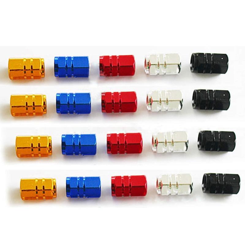 [해외]12PCS / 많은 고품질 유니버설 자동 자전거 자동차 타이어 밸브 타이어 휠 Ventile 에어 커버 밀폐가 보조 바퀴 줄기 모자/12Pcs/lot High quality Universal Auto Bicycle Car Tire Valve Caps Tyre W