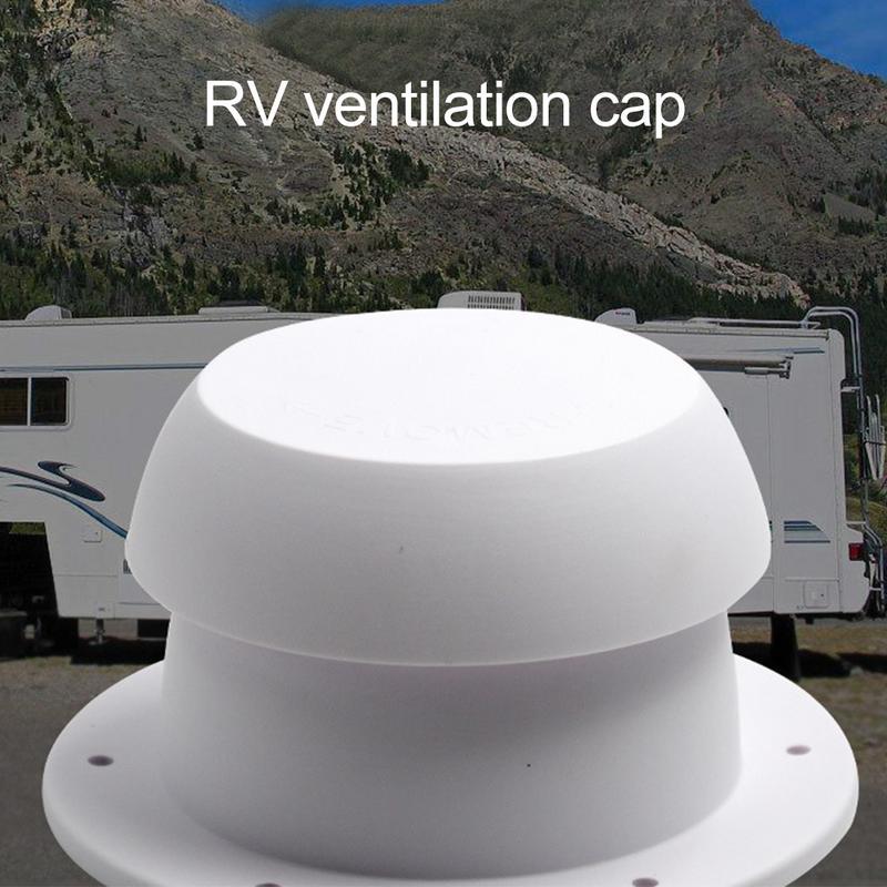 [해외]Rv 액세서리 용 버섯 헤드 모양 환기 캡 상단 장착 원형 배출 배출 벤트 캡/Rv 액세서리 용 버섯 헤드 모양 환기 캡 상단 장착 원형 배출 배출 벤트 캡