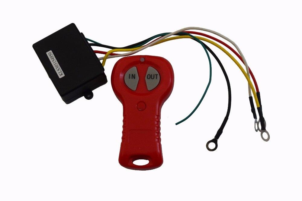 [해외]12V Electric Winch Wireless Remote Control & Receiver Kit For Car Truck ATV Vehicle/12V Electric Winch Wireless Remote Control & Receiver