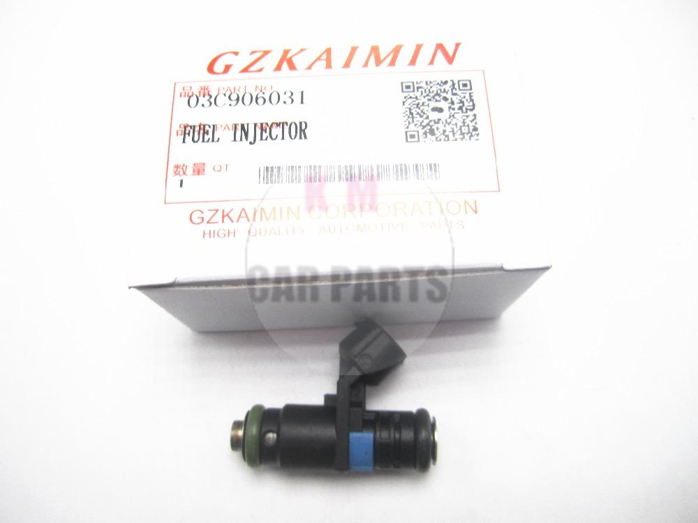 [해외]1X 고품질 연료 노즐 노즐 03C906031A 03C 906 031 A for VW / 아우디 용 / Skoda 용 03C906031 03C 906 031/1X high quality FUEL NOZZLE INJECTOR nozzle  03C906031A 03