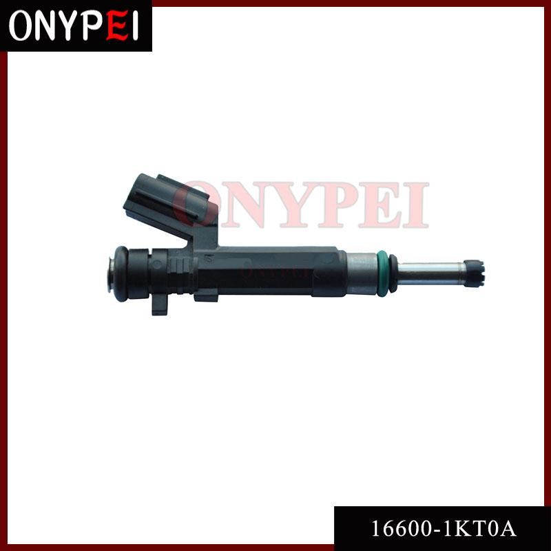 [해외]Nissan Versa 2012-2016 용 연료 인젝터 노즐 16600-1KT0A 1.6L L4 HR16DE/Fuel Injector Nozzle 16600-1KT0A For Nissan Versa 2012-2016 1.6L L4 HR16DE