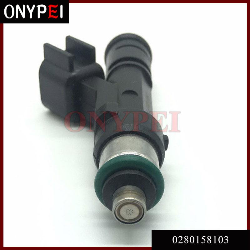 [해외]4 x 연료 분사 장치 L3G5-13-250 0280158103 2006-2012 마쓰다 용 2.0 2.3 2006-2012/4 x Fuel Injector L3G5-13-250 0280158103 For 2006-2012 Mazda 2.0 2.3 2006-20