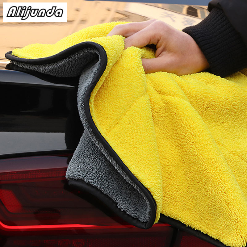 [해외] NEW 30*30 cm Car wash microfiber towels cleaning care Car washing items Towels for SEAT Ibiza Leon Toledo Arosa Alhambra Exeo / NEW 30*30 cm Car
