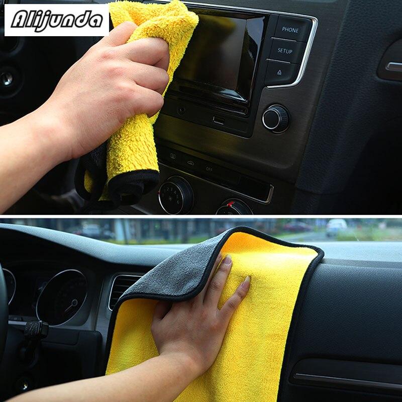 [해외] NEW 30*30 cm Car wash microfiber towels cleaning care Car washing items Towels for Dodge Jeep Grand Cherokee/Compass/Commander/ NEW 30*30 cm Car