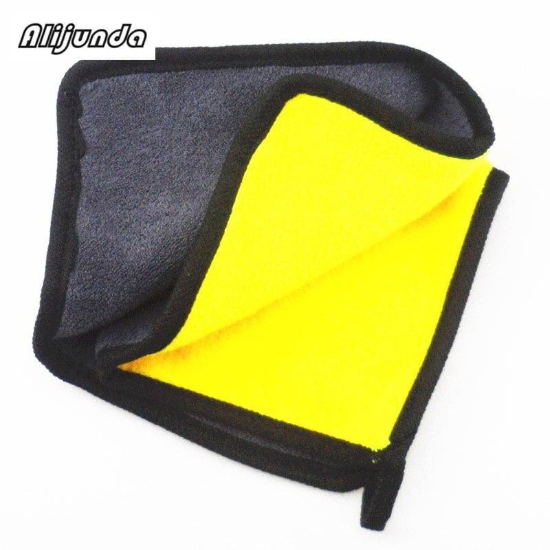 [해외] NEW 30*30 cm Car wash microfiber towels cleaning care Car washing items Towels for Citroen Peugeot 206 207 208 301 307 308 407 / NEW 30*30 cm Car