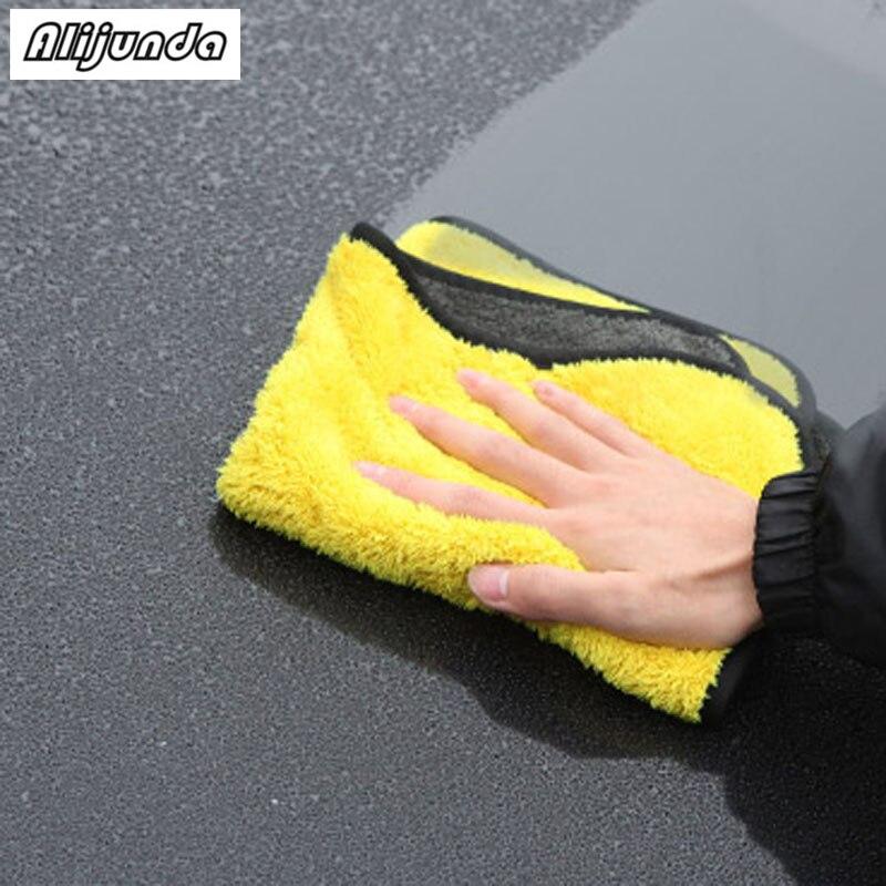 [해외] NEW 30*30 cm Car wash microfiber towels cleaning care Car washing items Towels for Chevrolet Cruze TRAX Aveo Sonic Lova Sail / NEW 30*30 cm Car w