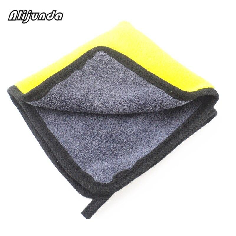 [해외] NEW 30*30 cm Car wash microfiber towels cleaning care Car washing items Towels for  Volkswagen vw POLO Tiguan Passat CC Golf / NEW 30*30 cm Car w