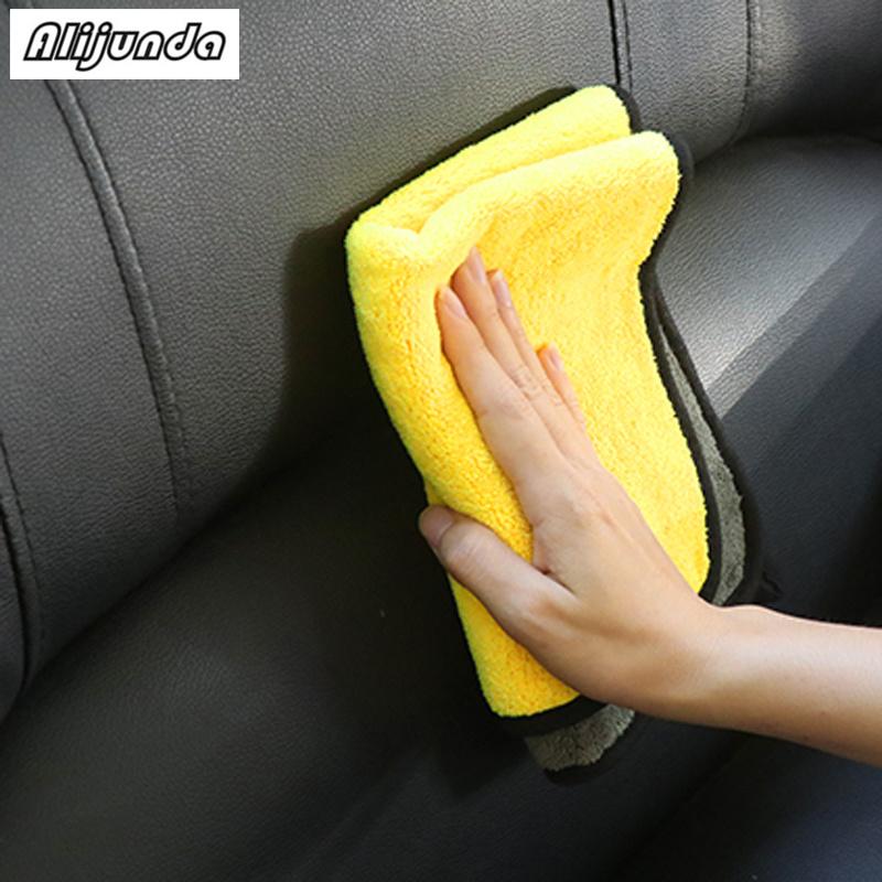 [해외] NEW 30*30 cm Car wash microfiber towels cleaning care Car washing items Towels for Infiniti FX-series Q-series QX-series Coupe / NEW 30*30 cm Car