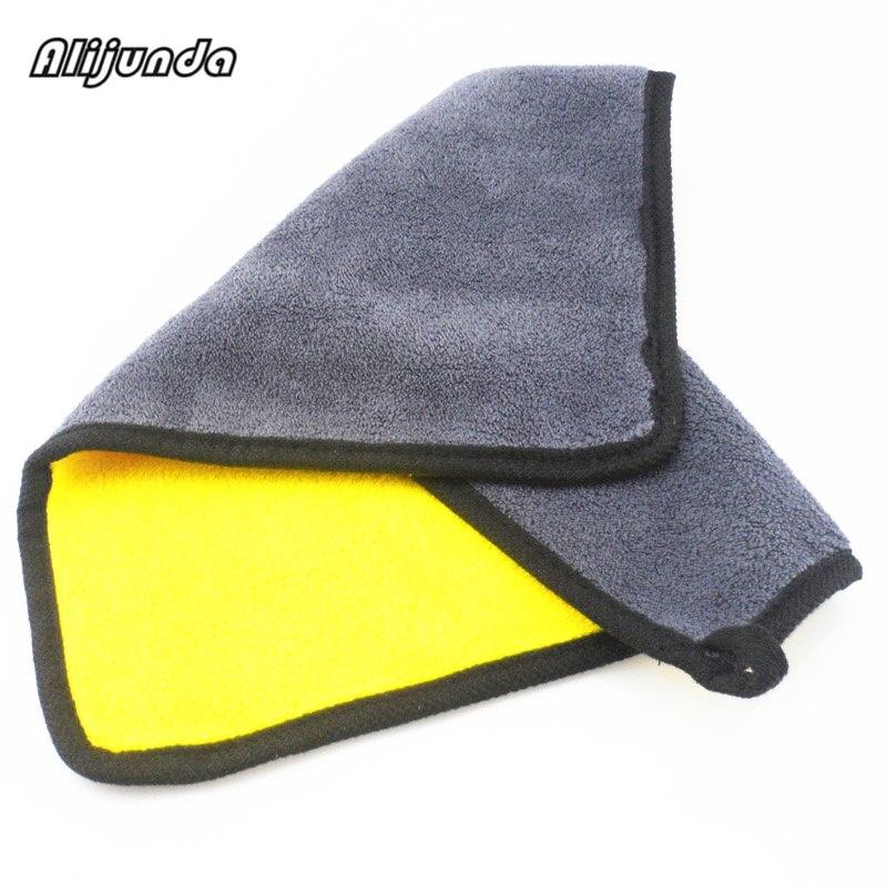 [해외] NEW 30*30 cm Car wash microfiber towels cleaning care Car washing items Towels for Audi all series Q3 Q5 SQ5 Q7 A1 A3 S3 A4 A4L/ NEW 30*30 cm Car