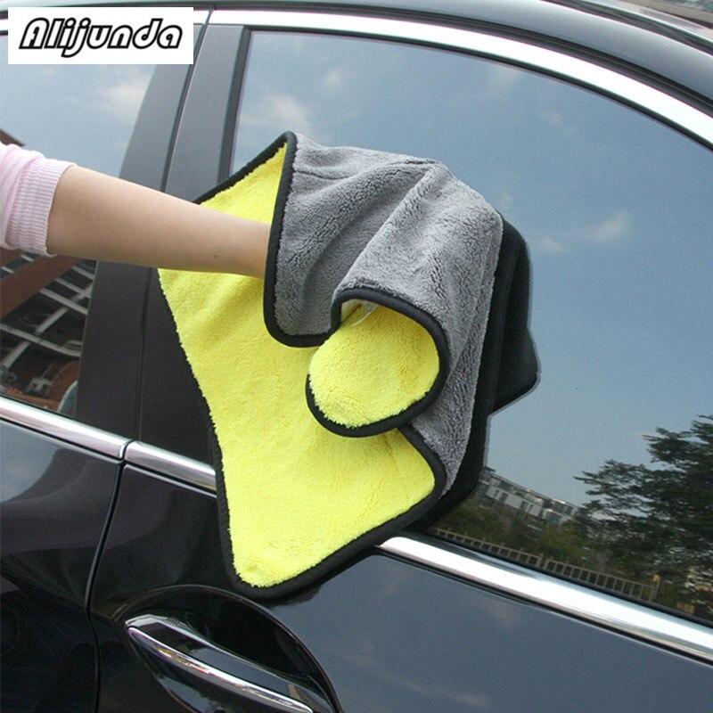 [해외] NEW 30*30 cm Car wash microfiber towels cleaning care Car washing items Towels for Kia Rio K2 K3 K5 K4 Cerato,Soul,Forte,Sport/ NEW 30*30 cm Car