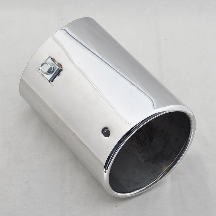 [해외]유니버설 배기 머플러 팁 타원형 파이프 50-60mm 내부 직경에 대한 [CP570]/For Universal Exhaust Muffler Oval Tip Pipe 50-60mm Inside Dia [CP570]